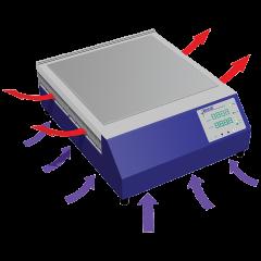 AHP-1800CPV Air flow pattern