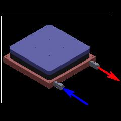 LHP-800CP Coolant flow