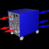TFC-2700 Air flow pattern