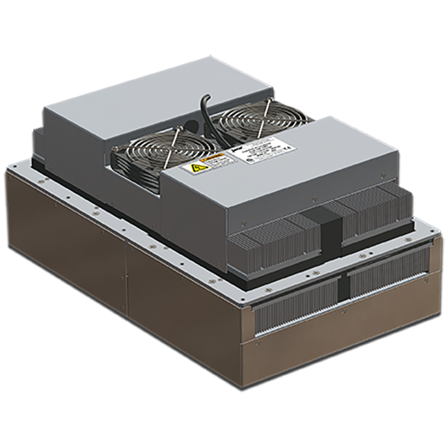 thermoelectric air conditioners, Peltier enclosure coolers