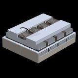 AHP-4259 Through mount 3410 BTU/HR