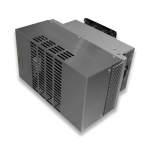 compact electrical panel cooler