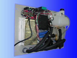 liquid chiller for aerospace manufacturing application