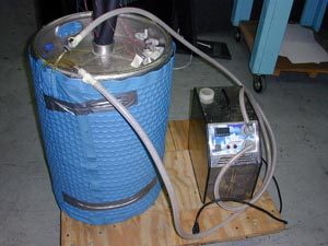 beverage cooling in a barrel