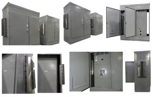 cooling larger enclosures