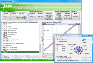 TECA Sizing Software