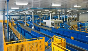 cooling sorting equipment