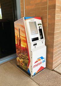 bill-pay kiosk